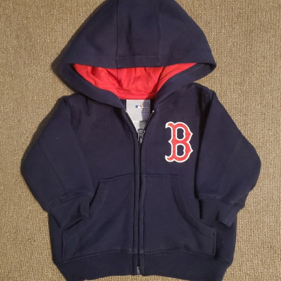 the latest b34c2 c2c40 Boston Red Sox infant zip up hoodie